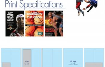 Magazine Production Material & Ad Sizes